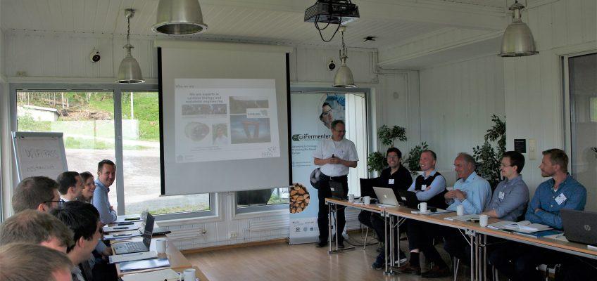 USAAR presenting
