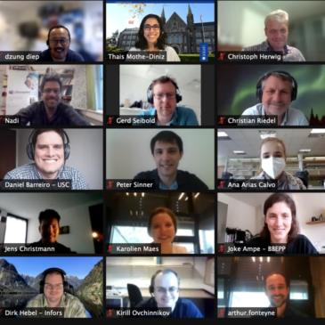 iFermenter, 3rd year Consortium meeting
